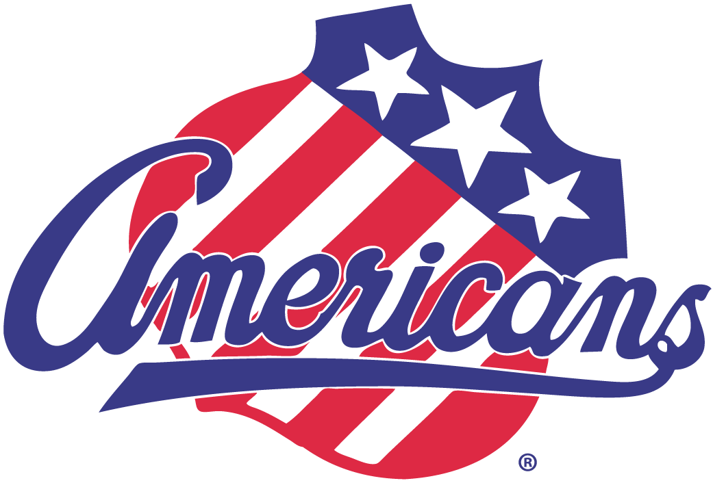 Rochester Americans Logo Primary Logo (2007/08-Pres) - White outline is added around the Americans script on the shield for 2012-13 season SportsLogos.Net