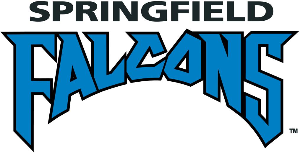 Springfield Falcons Logo Wordmark Logo (2002/03-2009/10) -  SportsLogos.Net