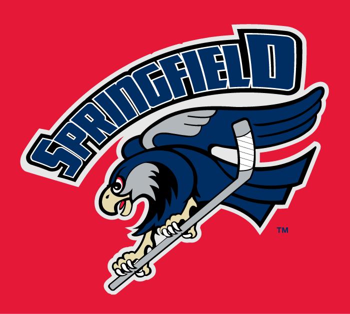 Springfield Falcons Logo Jersey Logo (2012/13-Pres) - Jersey crest on the new Springfield Falcons alternate jersey. SportsLogos.Net