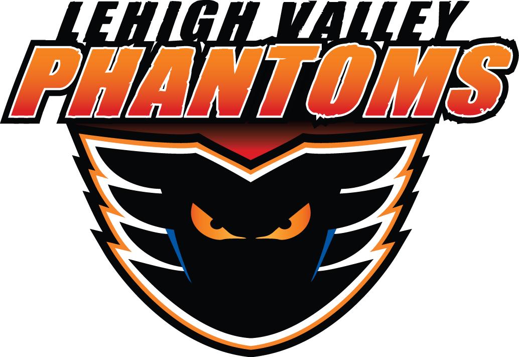 Lehigh Valley Phantoms Logo Primary Logo (2014/15-Pres) -  SportsLogos.Net