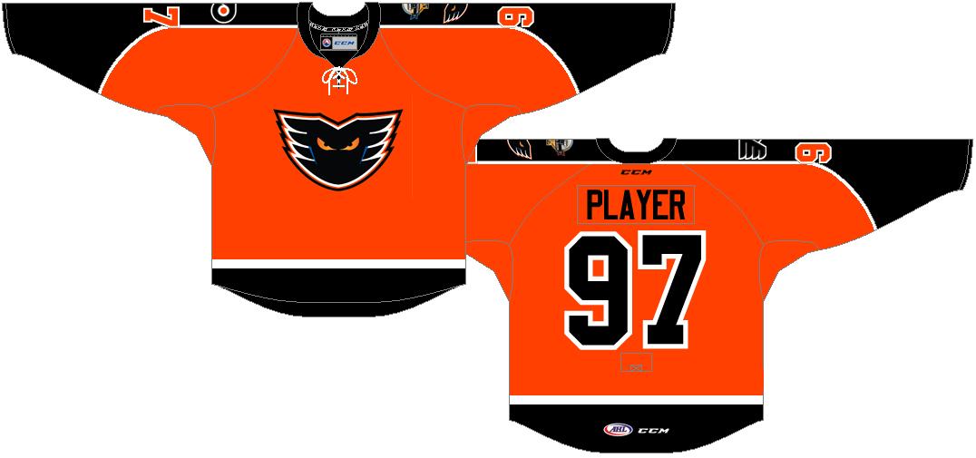 Lehigh Valley Phantoms Uniform Alternate Uniform (2014/15-Pres) -  SportsLogos.Net