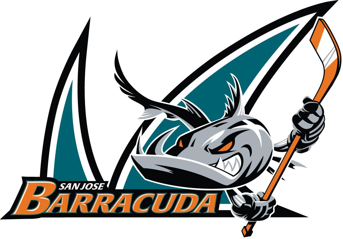 San Jose Barracuda Logo Primary Logo (2015/16-2017/18) -  SportsLogos.Net
