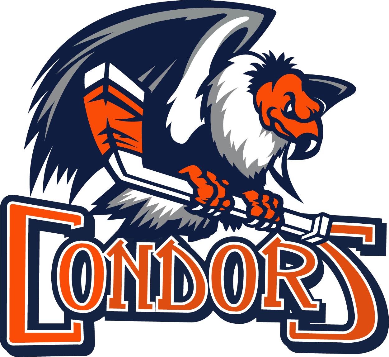Bakersfield Condors  Logo Primary Logo (2018/19-Pres) -  SportsLogos.Net