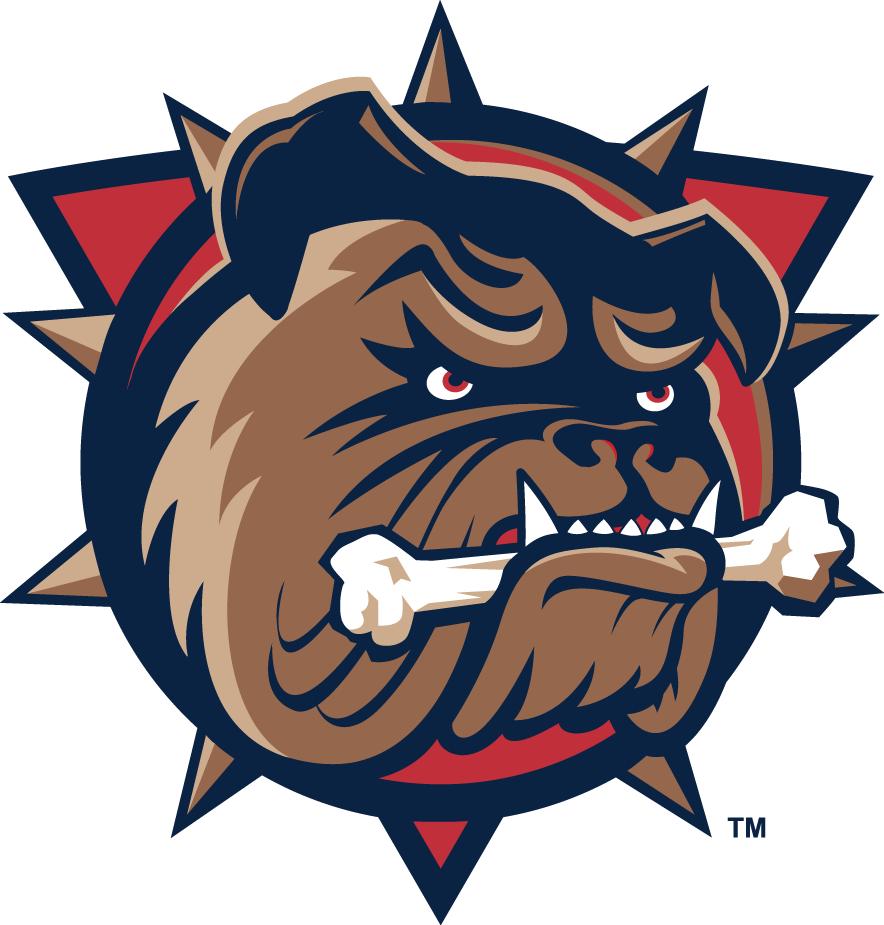 Hamilton Bulldogs Logo Primary Logo (1996/97-2001/02) -  SportsLogos.Net