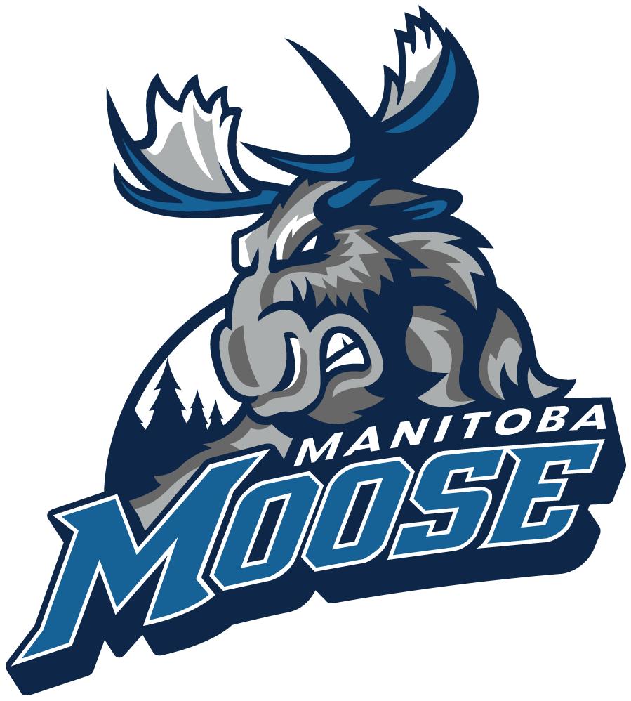 Manitoba Moose Logo Primary Logo (2015/16-Pres) -  SportsLogos.Net