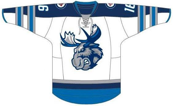 Manitoba Moose Uniform Home Uniform (2015/16-Pres) -  SportsLogos.Net