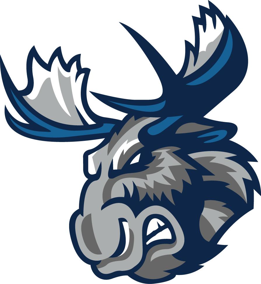 Manitoba Moose Logo Secondary Logo (2015/16-Pres) -  SportsLogos.Net