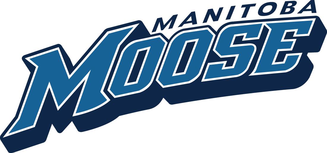 Manitoba Moose Logo Wordmark Logo (2015/16-Pres) -  SportsLogos.Net