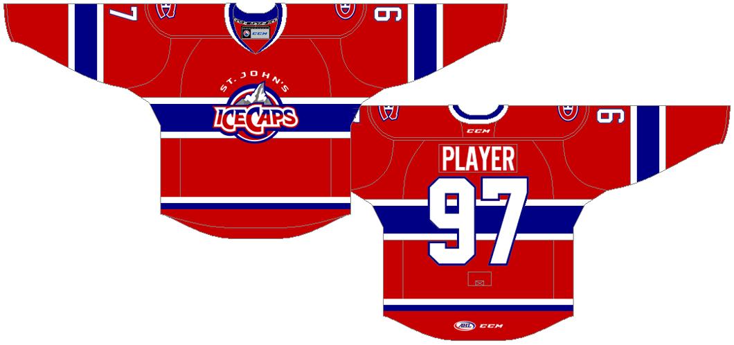 St. Johns IceCaps Uniform Road Uniform (2015/16-2016/17) -  SportsLogos.Net