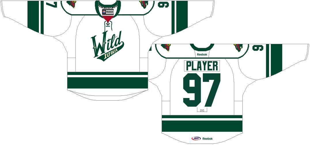 Iowa Wild Uniform Home Uniform (2013/14-Pres) -  SportsLogos.Net