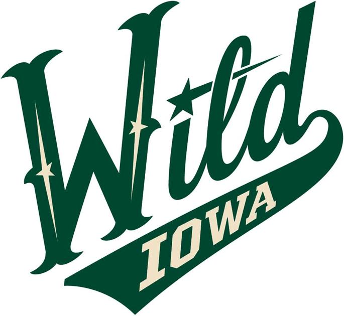 Iowa Wild Logo Primary Logo (2013/14-Pres) -  SportsLogos.Net