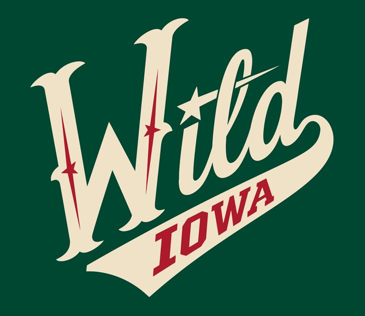 Iowa Wild Logo Alternate Logo (2013/14-Pres) -  SportsLogos.Net