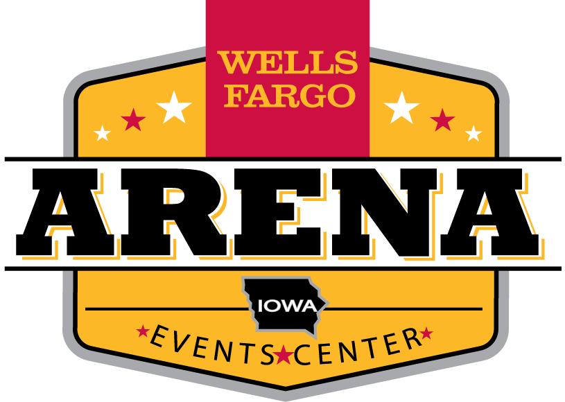 Iowa Wild Logo Stadium Logo (2013/14-Pres) - Wells Fargo Arena logo SportsLogos.Net
