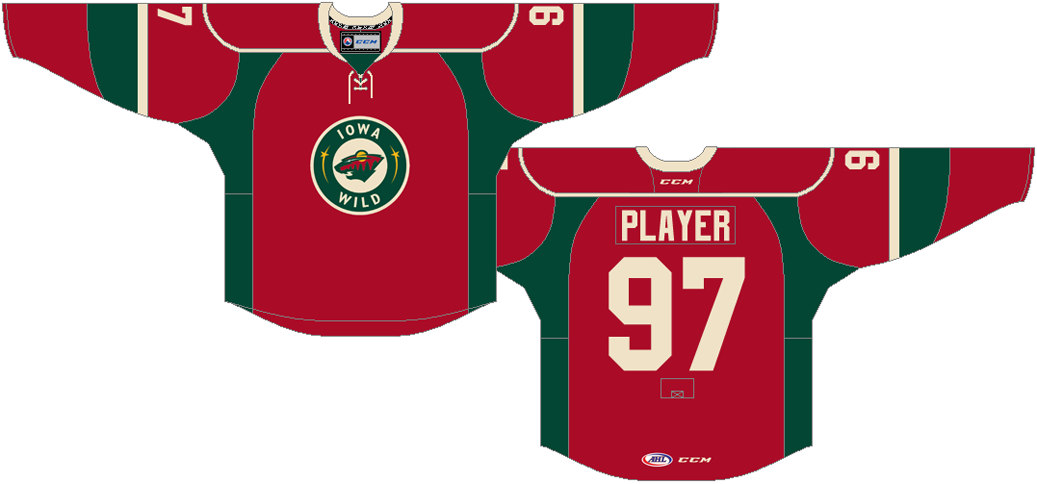 Iowa Wild Uniform Alternate Uniform (2015/16-Pres) -  SportsLogos.Net