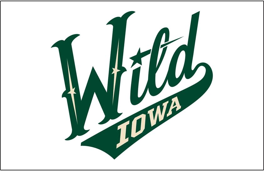 Iowa Wild Logo Jersey Logo (2013/14-Pres) - Home jersey crest SportsLogos.Net