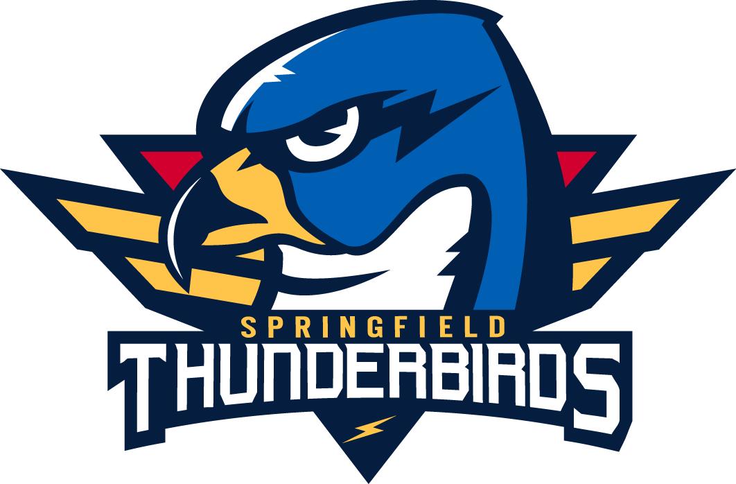 Springfield Thunderbirds Logo Primary Logo (2016/17-Pres) -  SportsLogos.Net