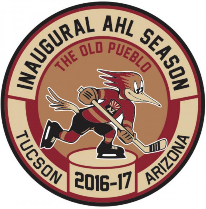 Tucson Roadrunners Logo Anniversary Logo (2016/17) -  SportsLogos.Net