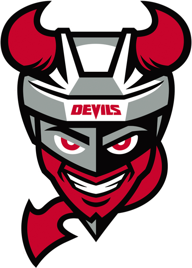 Binghamton Devils Logo Primary Logo (2017/18-Pres) -  SportsLogos.Net