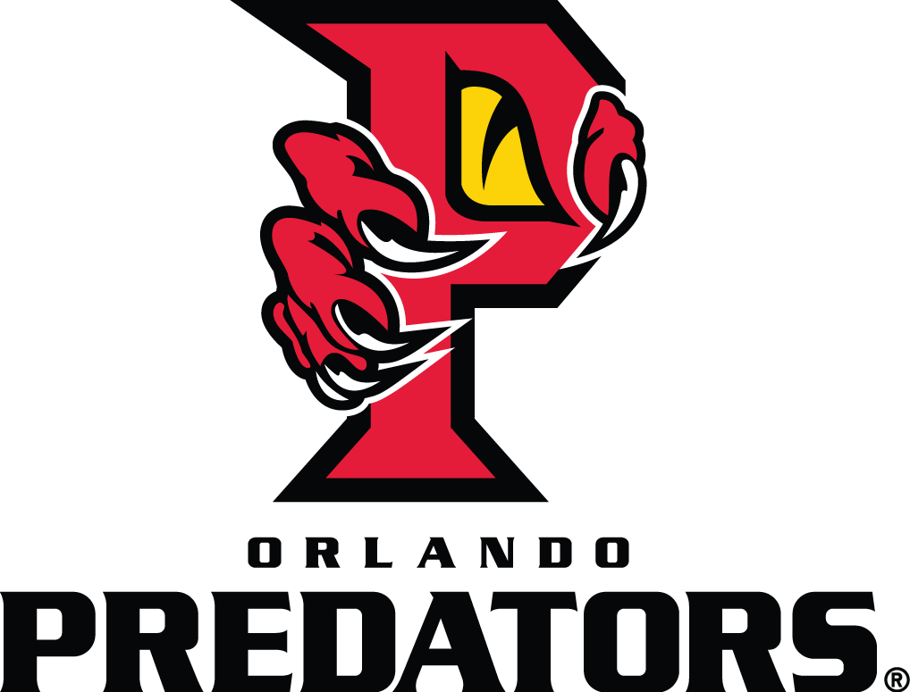 Predators Football Logo Orlando Predators Primary Logo