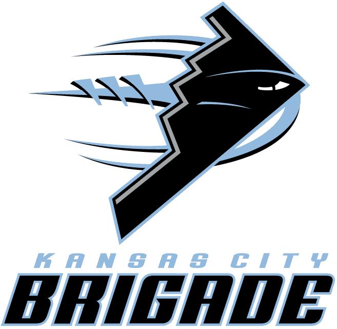Kansas City Brigade Primary Logo Arena Football League Arena Fl
