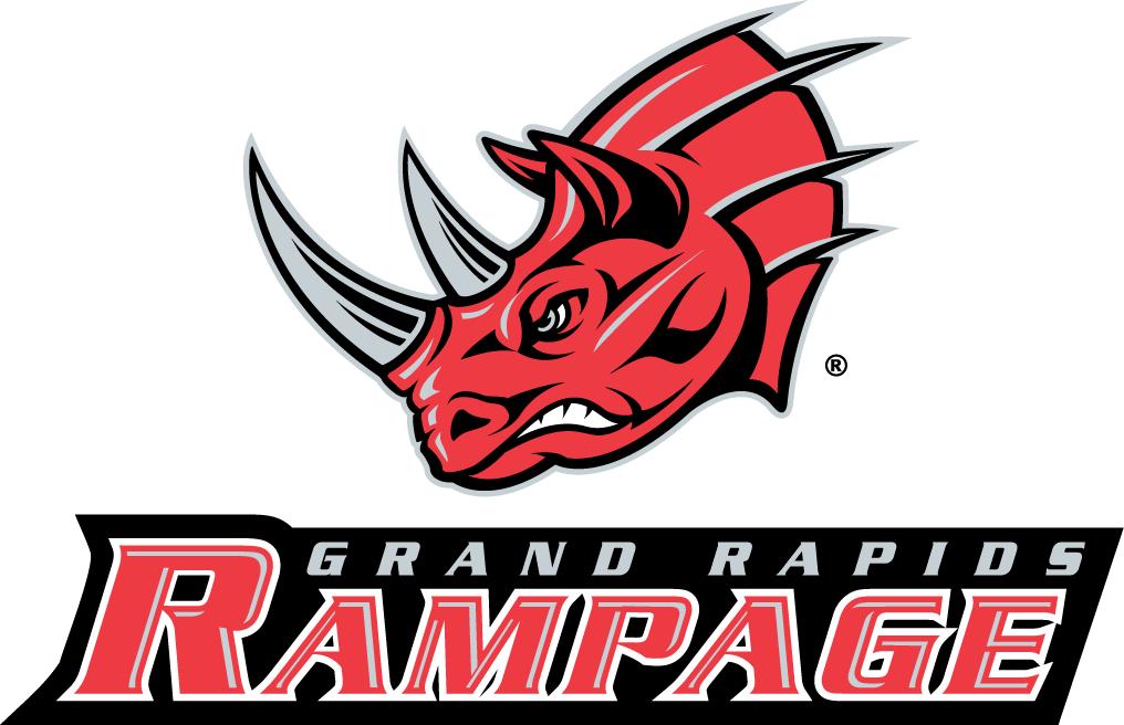 Grand Rapids Rampage Logo Primary Logo (2005-2009) -  SportsLogos.Net