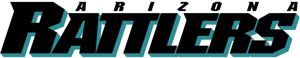 Arizona Rattlers Logo Wordmark Logo (1992-2011) -  SportsLogos.Net