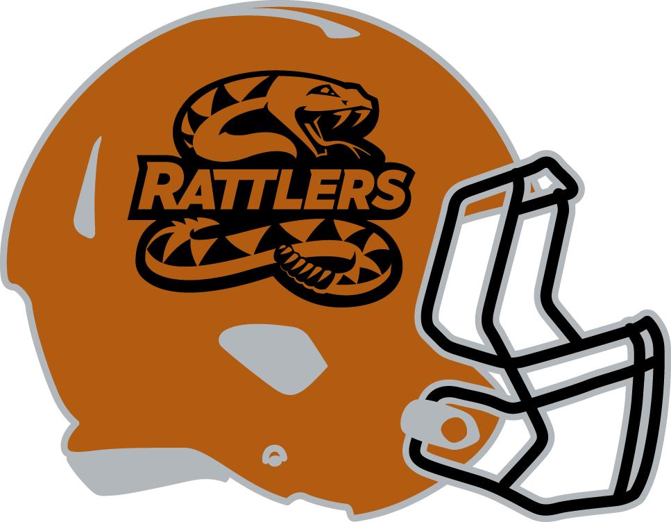 Arizona Rattlers Helmet Helmet (2013-2016) -  SportsLogos.Net