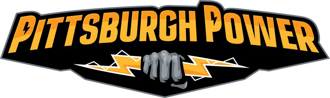 Pittsburgh Power Logo Primary Logo (2011-2014) -  SportsLogos.Net