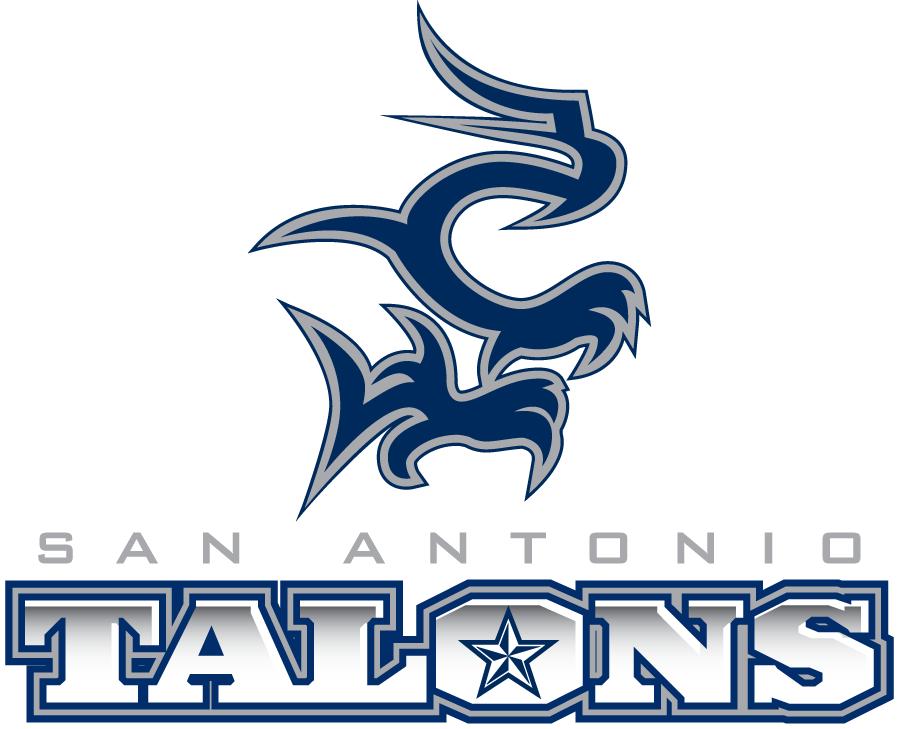 San Antonio Talons Logo Primary Logo (2013-2014) -  SportsLogos.Net
