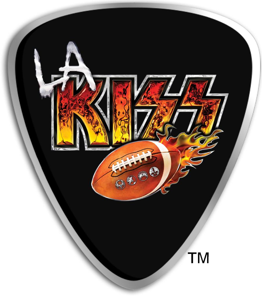 Los Angeles Kiss Logo Alternate Logo (2014-2016) -  SportsLogos.Net