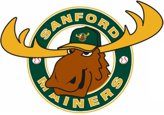 Sanford  Mainers Logo Primary Logo (2002-Pres) -  SportsLogos.Net