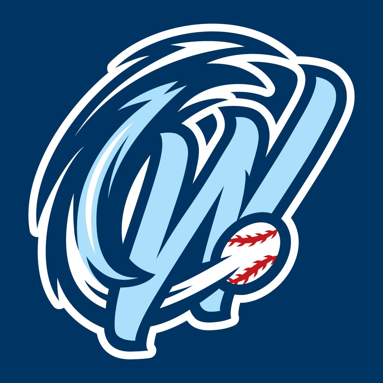 Ocean State Waves Logo Cap Logo (2013-Pres) -  SportsLogos.Net