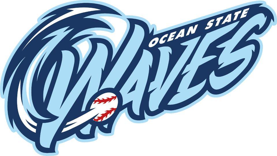 Ocean State Waves Logo Primary Logo (2013-Pres) -  SportsLogos.Net