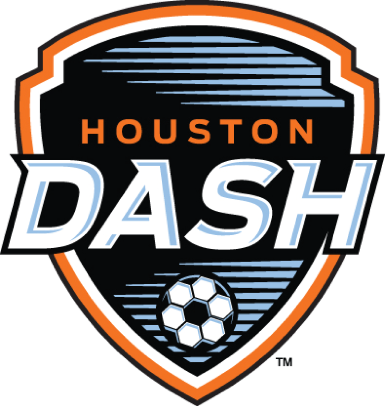 Houston Dash Logo Primary Logo (2014-2020) -  SportsLogos.Net