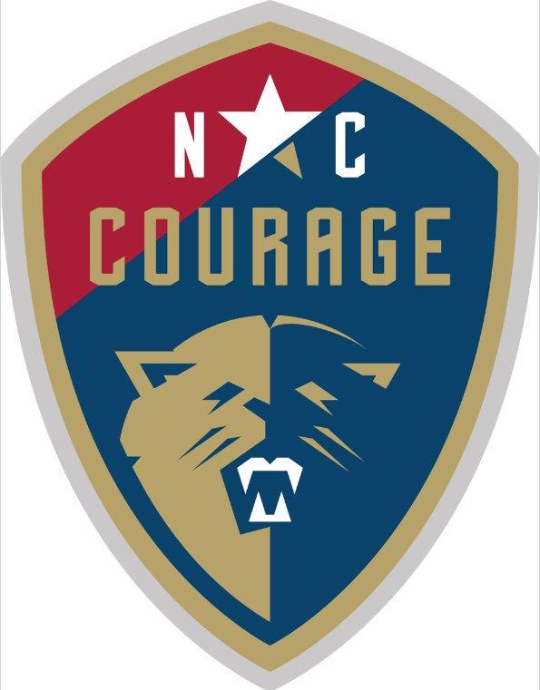 North Carolina Courage Logo Primary Logo (2017-Pres) -  SportsLogos.Net