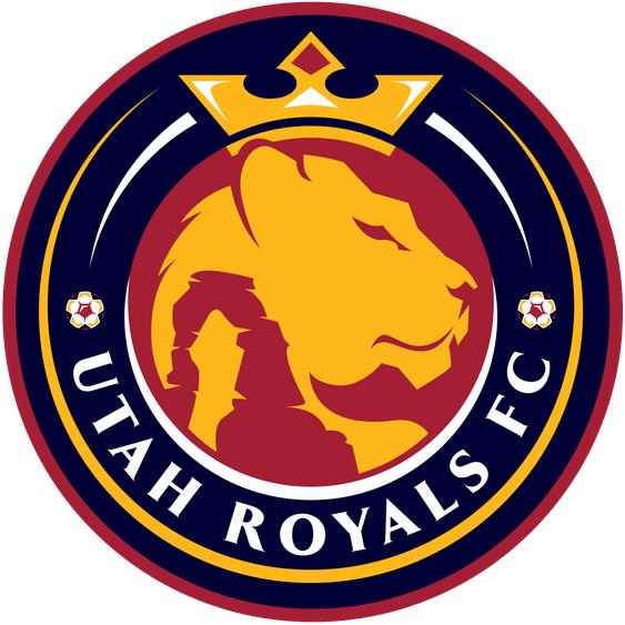Utah Royals  FC Logo Primary Logo (2018-Pres) -  SportsLogos.Net