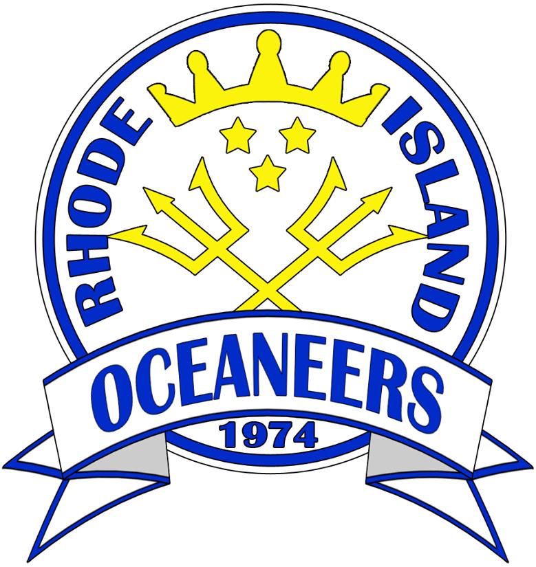Rhode Island Oceaneers Logo Primary Logo (2014-Pres) -  SportsLogos.Net