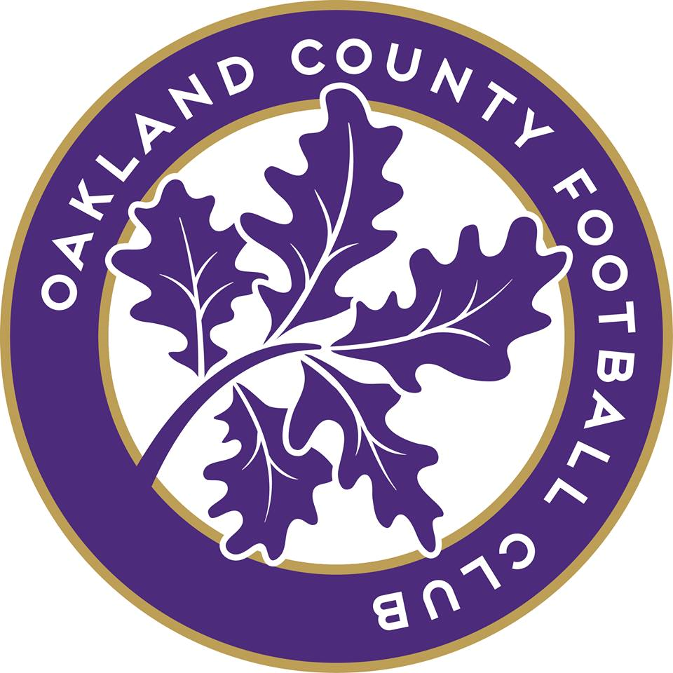 Oakland County FC Logo Primary Logo (2016-Pres) -  SportsLogos.Net