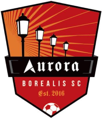 Aurora  Borealis SC Logo Primary Logo (2016-Pres) -  SportsLogos.Net