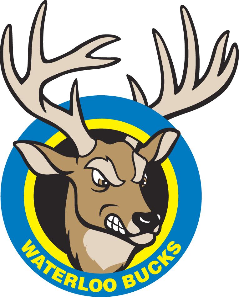 Waterloo Bucks Logo Primary Logo (1995-Pres) -  SportsLogos.Net