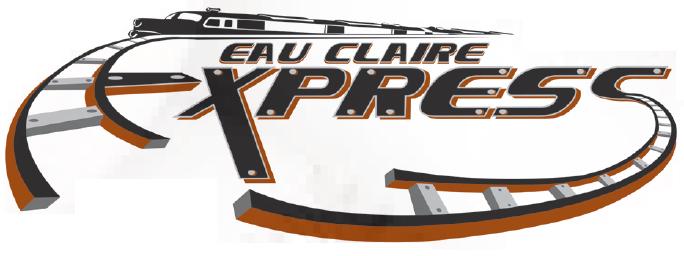 Eau Claire Express Logo Primary Logo (2005-2016) -  SportsLogos.Net
