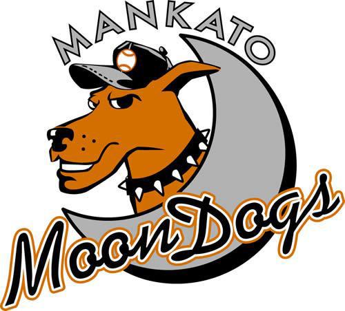 Mankato MoonDogs Logo Primary Logo (2002-Pres) -  SportsLogos.Net