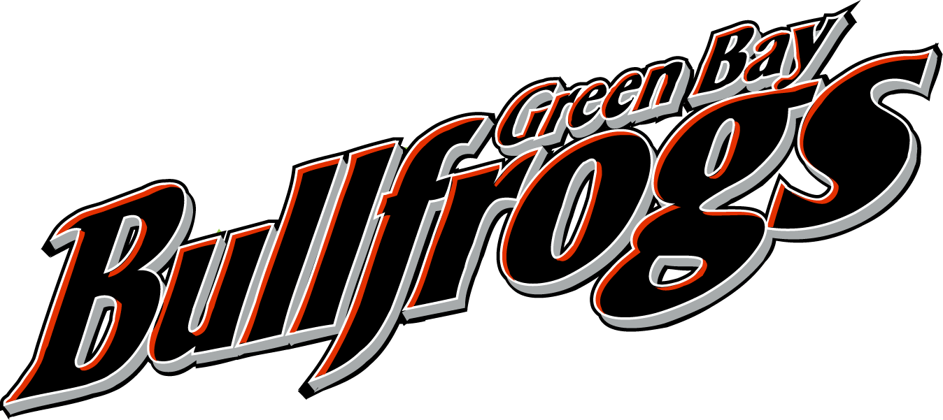 Green Bay Bullfrogs Logo Wordmark Logo (2007-Pres) -  SportsLogos.Net
