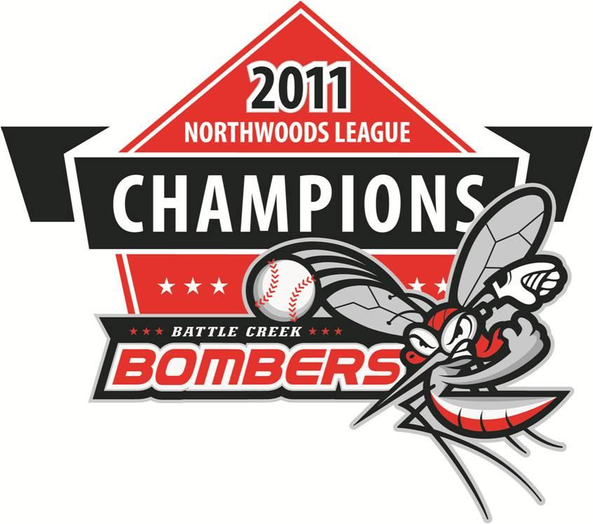 Battle Creek Bombers Logo Champion Logo (2011) -  SportsLogos.Net