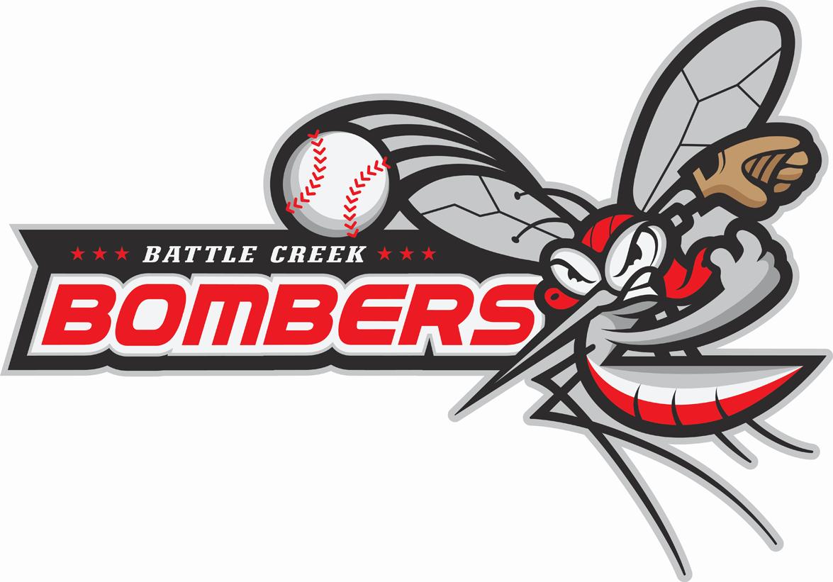 Battle Creek Bombers Logo Primary Logo (2011-Pres) -  SportsLogos.Net