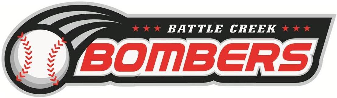 Battle Creek Bombers Logo Wordmark Logo (2011-Pres) -  SportsLogos.Net