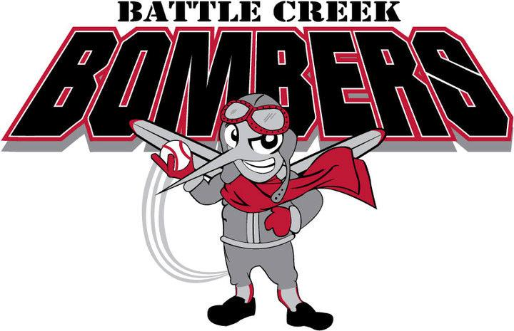 Battle Creek Bombers Logo Primary Logo (2007-2010) -  SportsLogos.Net