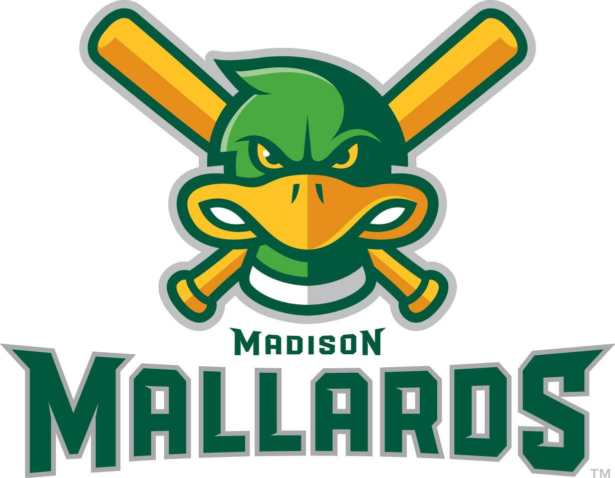 Madison Mallards Logo Primary Logo (2011-Pres) -  SportsLogos.Net