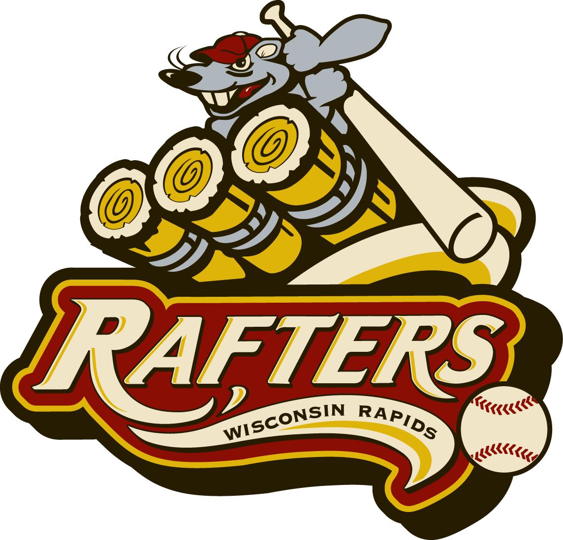 Wisconsin Rapids Rafters Logo Primary Logo (2010-2015) -  SportsLogos.Net