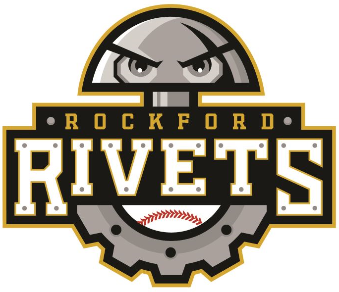 Rockford  Rivets Logo Primary Logo (2016-Pres) -  SportsLogos.Net